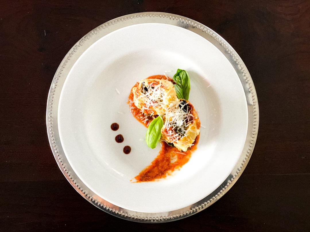 Creamy Spinach Rotolo