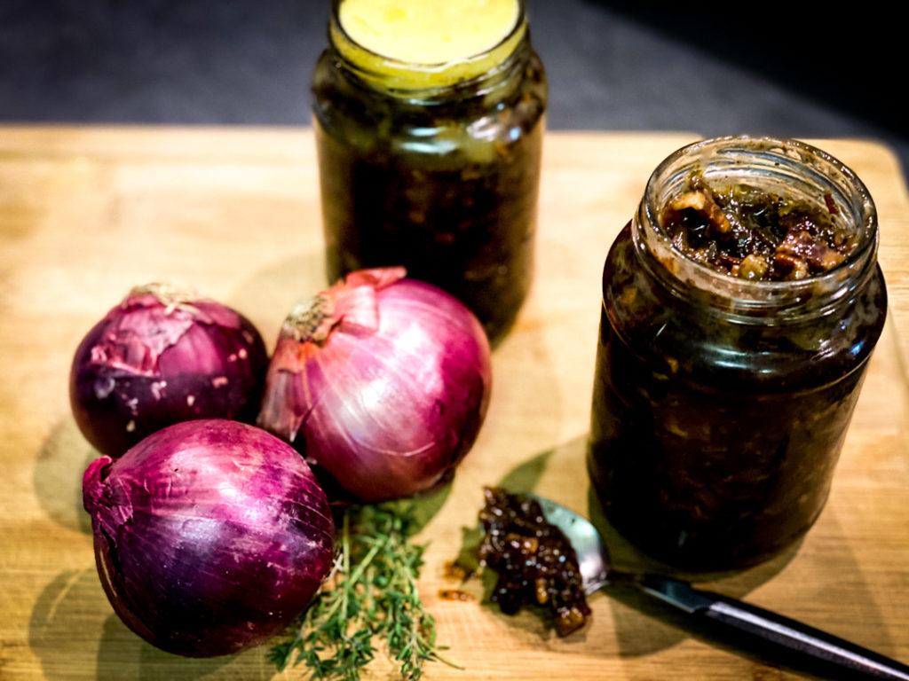 bacon and onion marmelade
