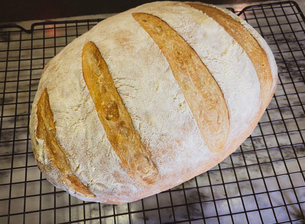 No-Knead Artisan Bread