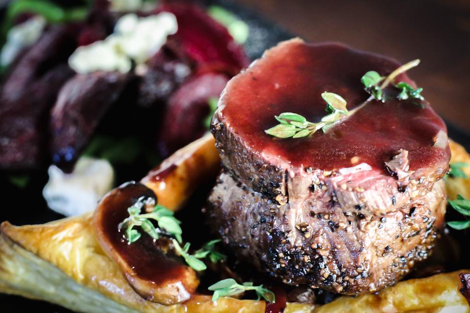 Deconstructed Beef Wellington