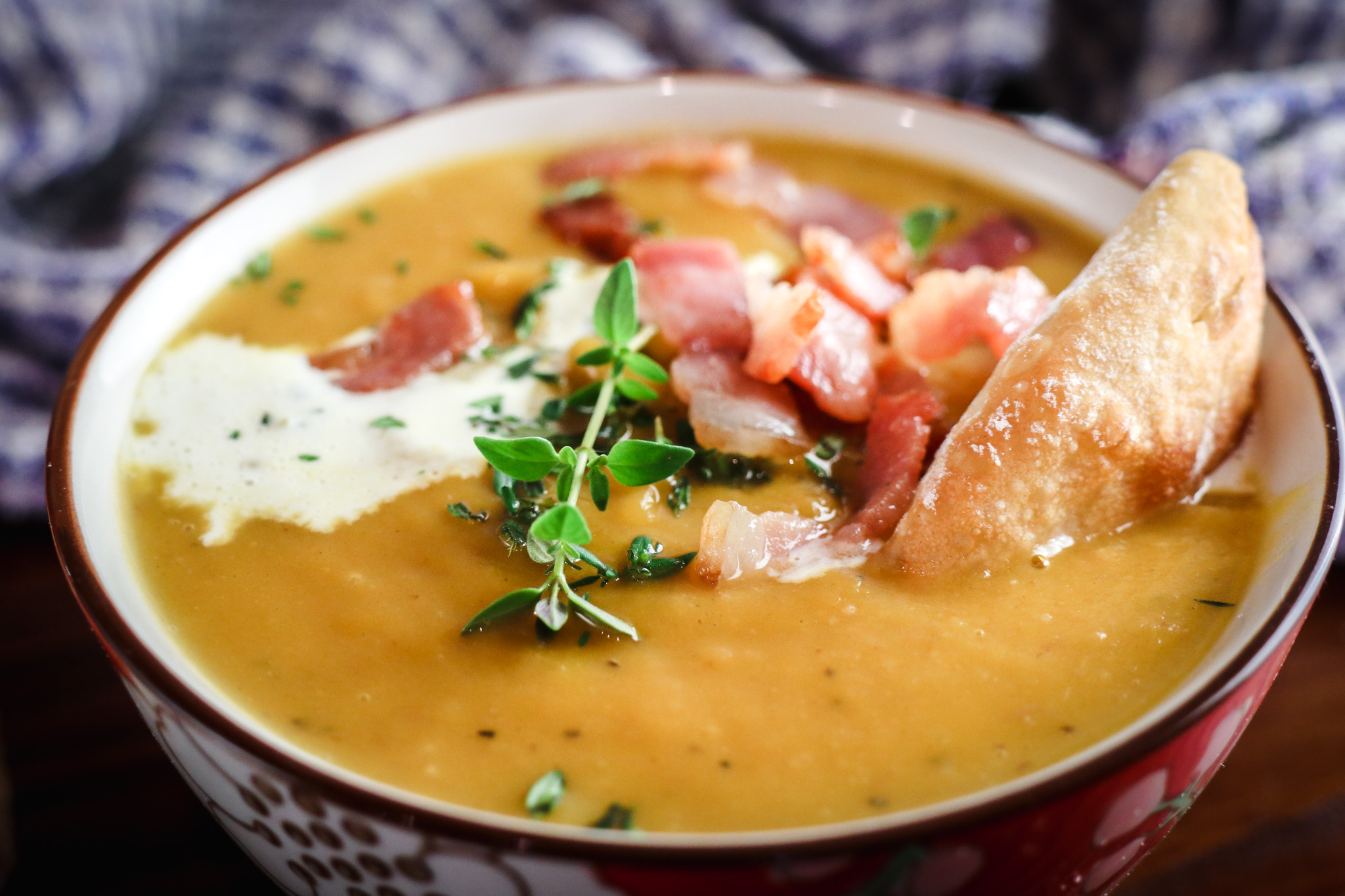 Roasted Butternut Onion Soup