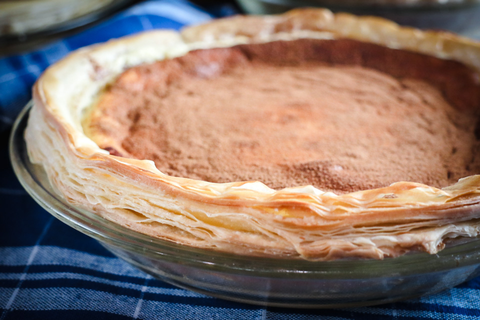 Rough Puff Pastry Milktart