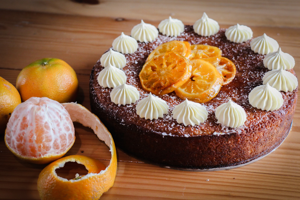 Flourless Clementine Cake